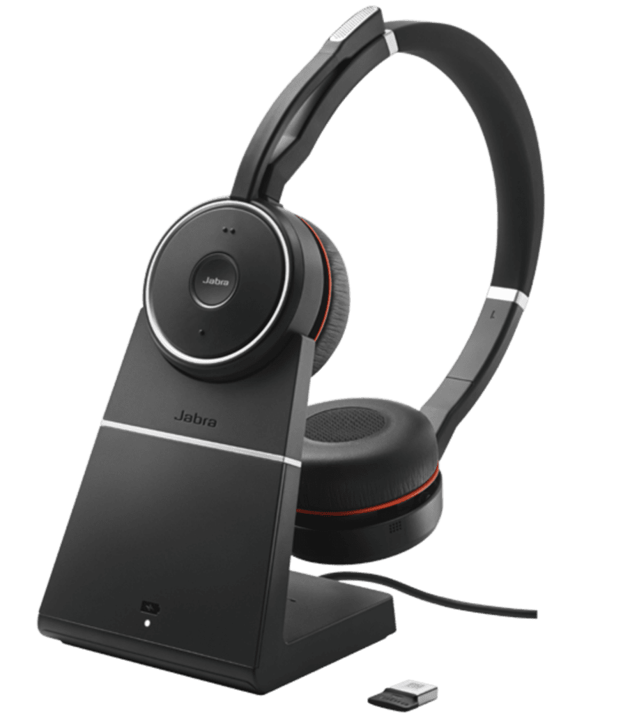 Jabra Evolve75 Evolve2  65 Bluetooth Headsets Hybrid Work