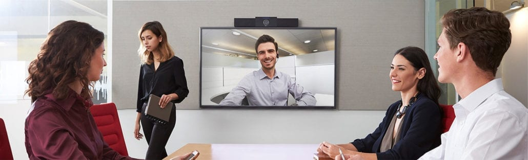 Huddle Rooms banner All-in-One Video Bars