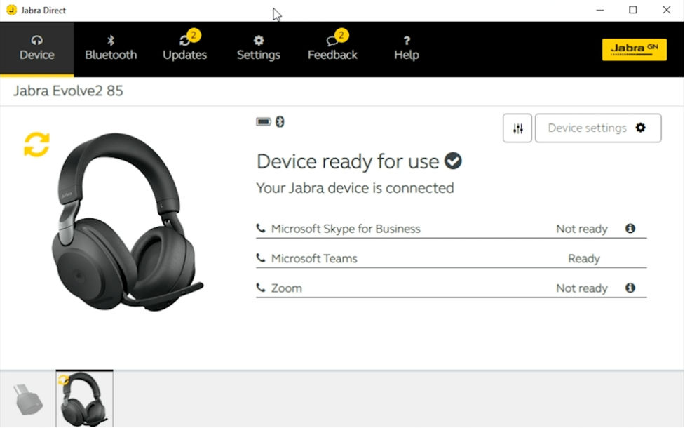 Jabra Direct Update