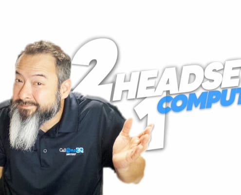Connect 2 Headsets 1 PC